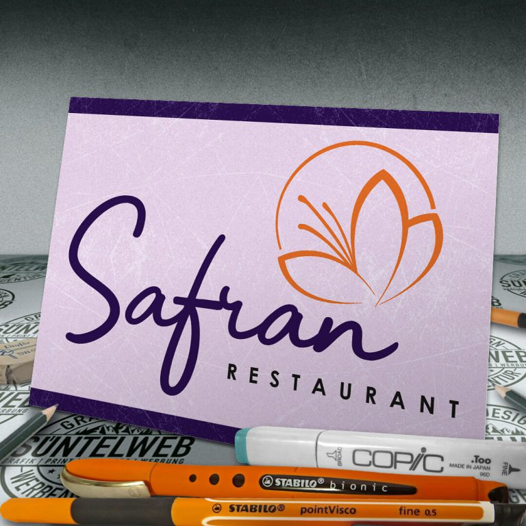 Re-Design für Safran Restaurant Hameln