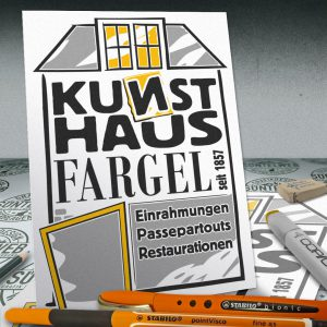 Neues Logo: Kunsthaus Fargel in Hameln