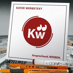 Logo für Kater Werbetext in Hameln