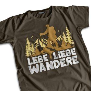 """suentelweb-shirt """"Lebe, Liebe, Wandere"""""""