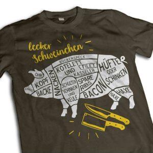 """suentelweb-shirt """"Lecker Schweinchen"""""""
