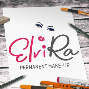 Logodesign für ElviRa Permanent Make-Up