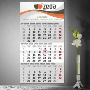 Zeda-Dreimonatskalender für das Pflasterfest Hameln