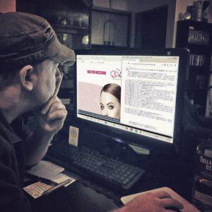 Nächtliche SEO-Arbeiten an ElviRa Permanent Makeup