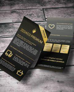 Zedaco Premium-Flyer