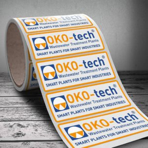 Office-Produkte und Etiketten für OKO-tech GmbH & Co.KG