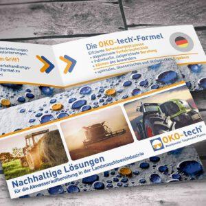 Recycling-Werbekarten für OKO-tech GmbH & Co.KG