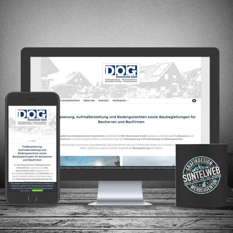 Neue Homepage für DOG Deutschland GmbH in Hessisch Oldendorf