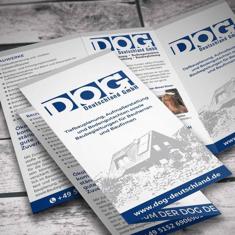 Imageflyer für DOG Deutschland GmbH in Hessisch Oldendorf