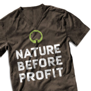 "suentelweb-shirt ""Nature Before Profit"""