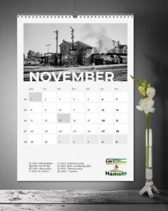 GDL Ortsgruppe Hameln Kalender 2021