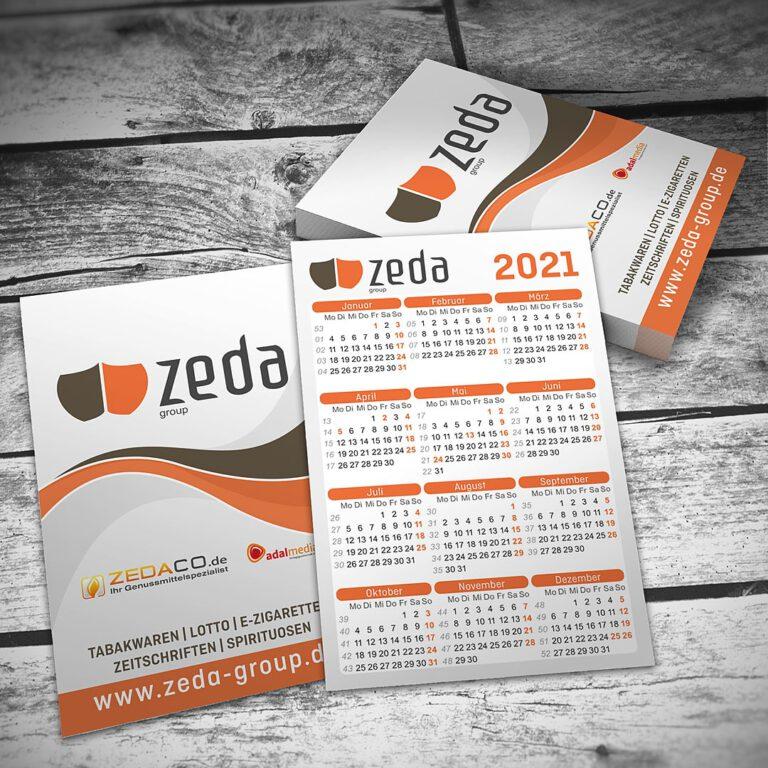 Taschenkalender für zeda-group Hameln